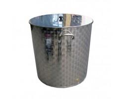 Bollitore 300 litri Inox AISI 304 con Manici
