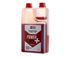Olio Miscela Power Mix + Con Dosatore - 2T Sintetico Ima