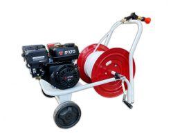 Motopompa Rato R 210 AR 252 Carrellata Benzina