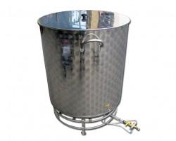 Bollitore 300 litri Completo di Bruciatore 14 kW