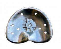 Sedile in Metallo per Carrelli Motocoltivatori Motozappe Scavatori Motoagricole