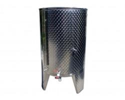 Serbatoio Acciaio Inox 530 Litri Completo