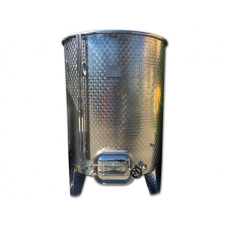 Serbatoio Acciaio Inox 1000 Litri Completo con Botola