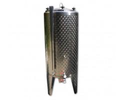 Serbatoio Acciaio Inox 350 Litri Completo Chiuso