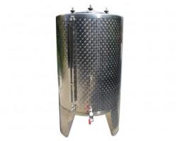 Serbatoio Acciaio Inox 570 Litri Completo Chiuso