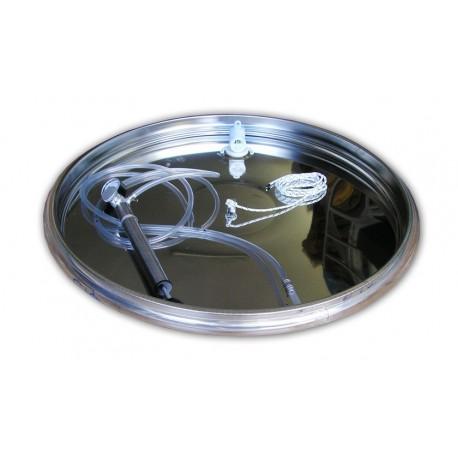 Chiusura Pneumatica Serbatoi Inox 61 cm