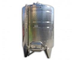 Serbatoio 5000 Litri Acciaio Inox Completo Refrigerata