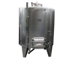 Serbatoio Acciaio Inox 1500 Litri Completa con Botola