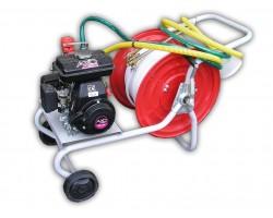 Motopompa Rato RS 100 AR 252 Carrellata Benzina