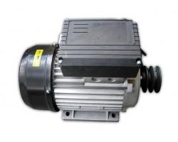 Motore Elettrico Monofase 2 Hp con Interruttore e Puleggia
