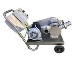 Elettropompa Elettrica BCM Volumex 60 Autoadescante per Travasi Alimentari con Inverter