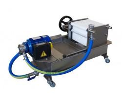 Vasca Ricevimento Olio con Filtro per Frantoio Oliomio - CPF 1 MF