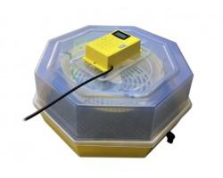 Incubatrice C5-TDH Digitale Uova Galline Oche Papere Rotazione Manuale