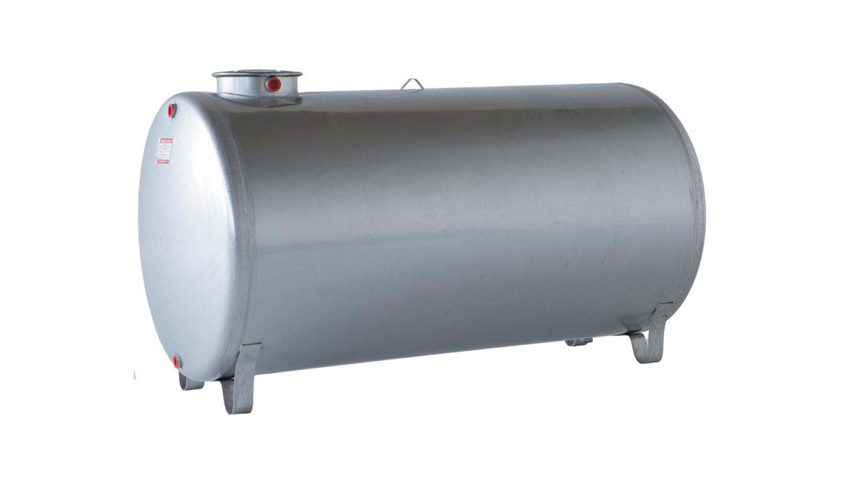 serbatoio acciaio inox 300 litri orizzontale aisi 304