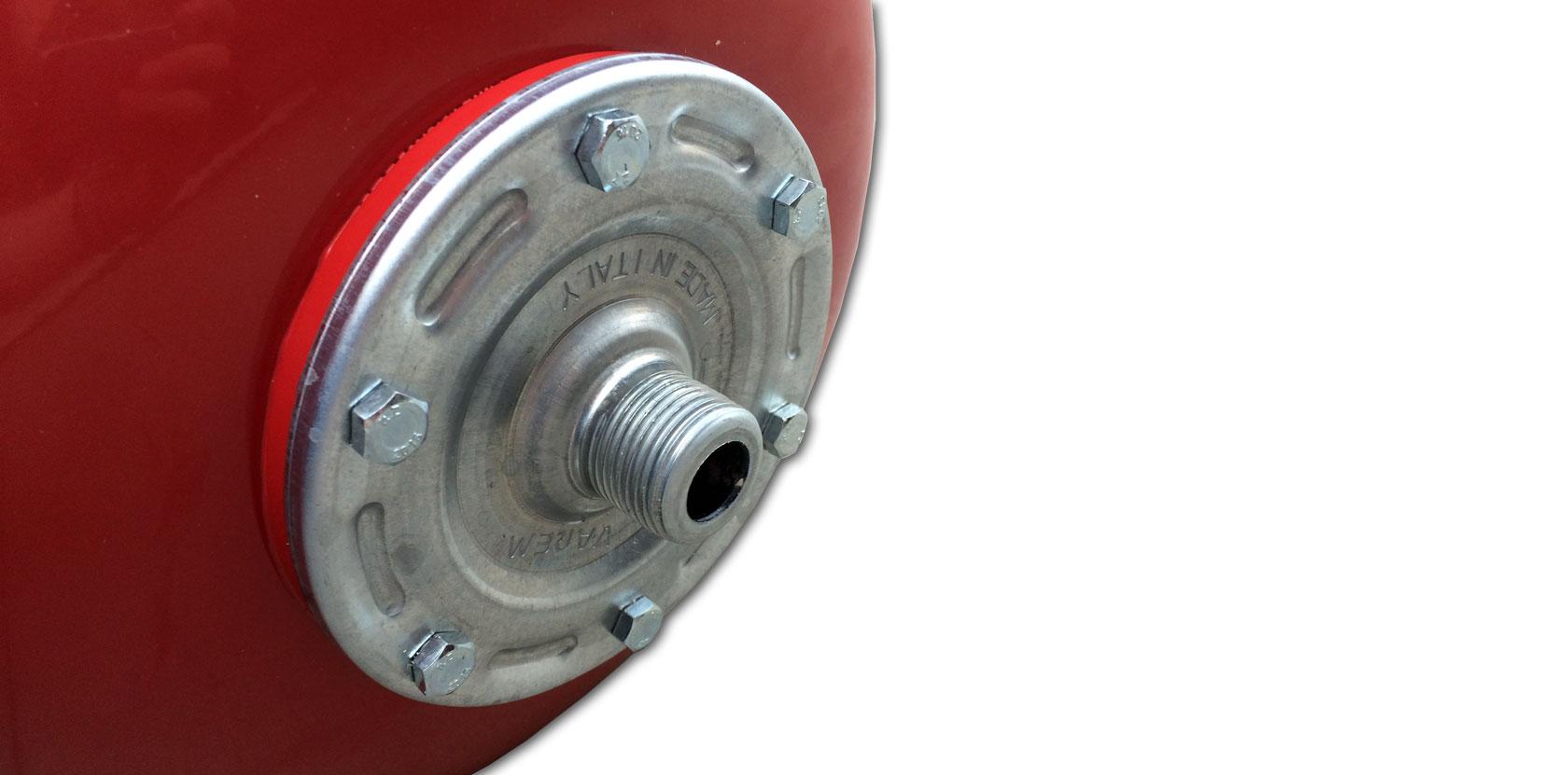 Vaso espansione autoclave membrana 24 lt for Vasi di espansione a membrana