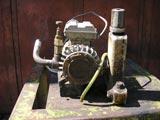 Pompa per Sottovuoto a Bagno Olio Monofase Usata thumb