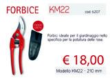 Forbice KM 22 thumb