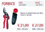 Forbice KM1-KM2 thumb